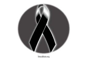fotos de luto para Facebook