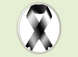 símbolos de luto para Facebook