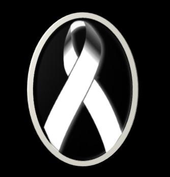 Fotos de moños de luto blanco para facebook