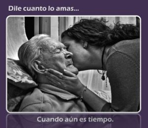 Fotos de luto para un abuelito