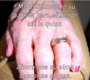 Fotos de luto para mi abuela