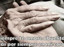 Fotos de luto para abuelas