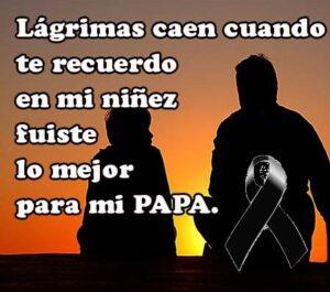 Fotos de luto para mi papa