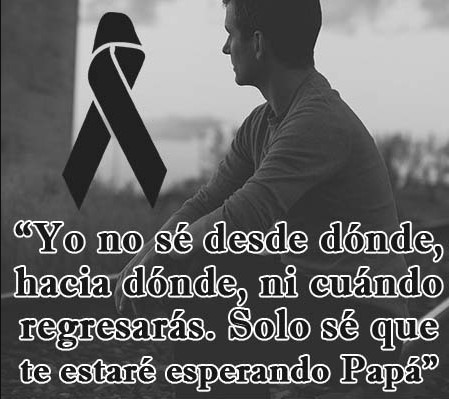 Hasta siempre papa