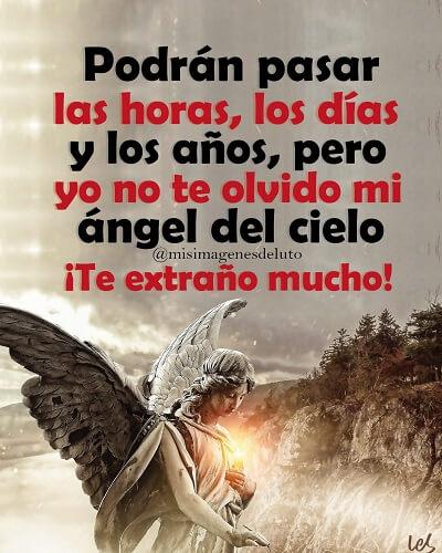 de luto no te olvido angel